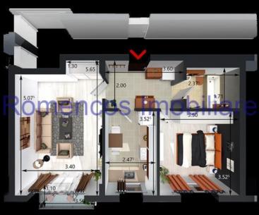 #OFERTA_ZILEI 211: Apartament doua camere, Take Ionescu